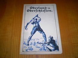 Oberland In Oberschlesien, Livre En Allemand, Oberland En Haute Silésie, Photos Pleines Pages Hors Texte - Books, Magazines, Comics