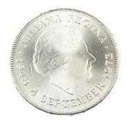 10 Gulden - Hollande - 1973 - 25è Anniversaire - Argent - TTB+ - - [ 3] 1815-… : Kingdom Of The Netherlands
