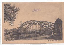 Saarbrücken   - Saar   -  Kaiser Friedrich Brücke  -      **AK-87654** - Saarbruecken