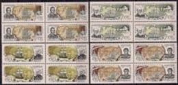 Russia 1994 Block Navy 300Y Explorations Fleet Ships Transport People Military Nautical Admiral Stamps MNH SG 6502-05 - Famous People