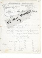 88 - Vosges - CONTREXEVILLE - Facture MARTIN-JOLITON - Chapellerie - Bonneterie, Mercerie - 191? - REF 86C - France