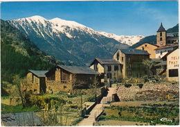 Valls D'Andorra: Village Typique D'Ordino - Valira Del Nord - Andorra