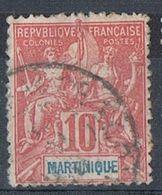 MARTINIQUE N°45 - Gebraucht