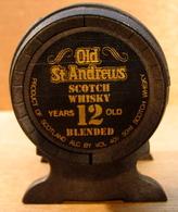 MIGNONNETTE VIDE AVEC BOUCHON OLDST ANFREWS SCOTCH WHISKY YEARS 12 OLD BLENDED - Miniatures