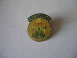 STATE POLICE MAINE USA - Police