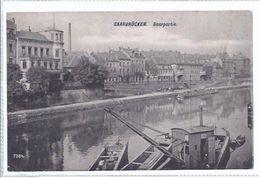 Saarbrücken   - Saar   -  Saarpartie -      **AK-87664** - Saarbruecken