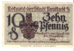 Deutschland Notgeld 10 Pfennig NEUSTADT /16M/ - [11] Local Banknote Issues