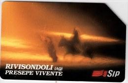 SCHEDA TELEFONICA USATA 274 RIVISONDOLI 10 - Italy