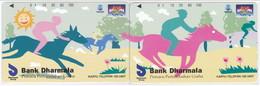 INDONESIA INDONESIEN  INDONESIE - IND P 334...335-P 338..339 Bank Dharmala-. MINT RRR - Indonesia