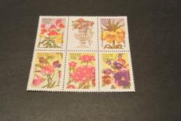 K13361- Set In Bloc  MNH Russia 1996- Flowers - Fleurs - Végétaux