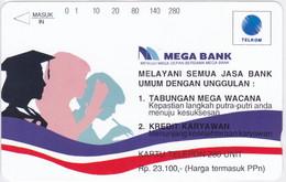 INDONESIA INDONESIEN  INDONESIE - IND P 339- P 342 Mega Bank 5.000ex..-. MINT RRR - Indonesia