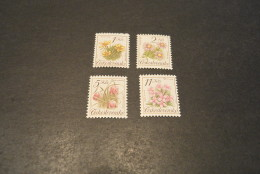 K13731- Set MNh Ceskoslovensko - Czechoslovakia - 1991- SC.2839-2842- YT-2898-2901- Flowers - Other