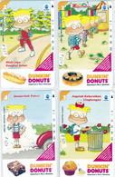 INDONESIA INDONESIEN  INDONESIE - IND P 341..344- P 350..353 Dunkin'Donuts 1...4 - 5.000ex..-. MINT RRR - Indonesia