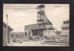 """61 Le Chatellier Saint Clair / Mines De Fer De Halouze / Chevalement Du Puits 2 / Série """"La Normandie"""" - France"""
