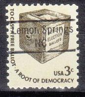 USA Precancel Vorausentwertung Preo, Locals North Carolina, Lemon Springs 843 - Etats-Unis