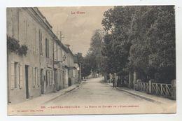 32 - Castera Les Bains - La Poste Et Entrée De L'Etablissement - - Castera