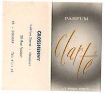 ACHAT IMMEDIAT Carte Parfumée  CALENDRIER 1969 L.T. PIVER CLARTE  Gris - Perfume Cards