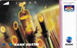 INDONESIA INDONESIEN  INDONESIE -IND P 385- P 390 Bank Hastin 5.000 Ex..-. MINT RRR - Indonesia