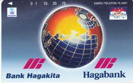 INDONESIA INDONESIEN  INDONESIE -IND P 386- P 389 Haga Bank 5.000ex.-. MINT RRR - Indonesia