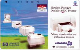 INDONESIA INDONESIEN  INDONESIE -IND P 387- P 391 HP Hewlett Packard-Istidata 5.000ex.-. MINT RRR - Indonesia