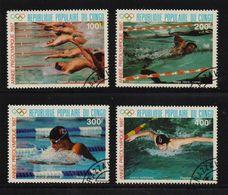 Congo 1987, Sports, Olympic Games, Complete Set, Vfu. Cv 5 Euro - Congo - Brazzaville