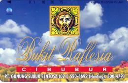 INDONESIA INDONESIEN  INDONESIE -IND P 392-P 396 Bukit Raflesia-Cibubur 5.000ex.- MINT RRR - Indonesia