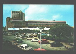 Curaçao - Front View Of Hotel Curaçao Intercontinental - Piar Square - 1976 - Classic Cars / Oldtimer - Curaçao