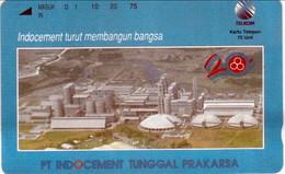 INDONESIA INDONESIEN  INDONESIE -  IND P 395- P 399 PT.Indocement Tunggal Prakarsa 5.000ex.- MINT RRR - Indonesia