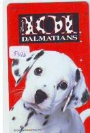 Télécarte Japon * 110-185706 * DISNEY  * 101 DALMATIENS (5426) CHIEN * DOG * Japan Phonecard TELEFONKARTE - Disney