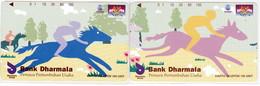 INDONESIA INDONESIEN  INDONESIE -  IND P 399..400- P 401..402 Bank Dharmala 3 E 4 - 5.000ex.- MINT RRR - Indonesia
