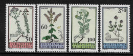 K14287- Set MNH Liechtenstein 1993- SC. 1009- 1012 - Plants  - Flowers - Végétaux