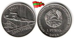 Transnistria - 1 Rouble 2014 (UNC - Dnestrovsk - 50,000 Ex.) - Moldova