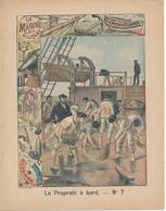 Couverture De Cahier - La Marine Militaire, La Propreté à Bord - Charier, Saumur - Protège-cahiers