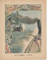 Couverture De Cahier - La Marine Militaire, Les Torpilles - Charier, Saumur - Book Covers