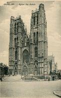 CPA - Carte Postale - Belgique - Bruxelles - Eglise Sainte Gudule - Monumenten, Gebouwen
