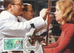 6198  Opticien: Carte Maximum 1er Jour D'Allemagne, 1986. YT 1106 - Ophthalmic Optician Maximum Card From Germany - Médecine