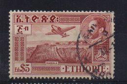 Ethiopia 1948, $5, Airplane, Minr 259, Vfu. Cv 6 Euro - Ethiopie