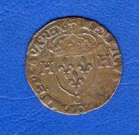 Henri  4  Douzain  1592 C - 987-1789 Monete Reali