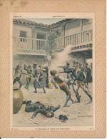 Couverture De Cahier - Gloires Militaires, Episode Du Siège De Saragosse - Charaire - Book Covers