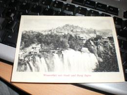 Jajce Wasserfall Mit Stadt Und Burg Jajce - Bosnia And Herzegovina
