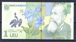 460-Roumanie Billet De 1 Leu 2005 052A225 Neuf - Romania