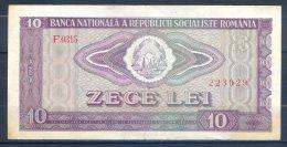 506-Roumanie Billet De 10 Lei 1966 F0315 - Romania