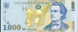 98-Roumanie Billet De 1000 Lei 1998 A007 Neuf - Romania