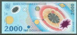 98-Roumanie Billet De 2000 Lei 1999 006E101 Neuf, Eclipse Solaire - Romania