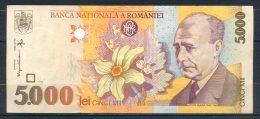 493-Roumanie Billet De 5000 Lei 1998 006D244 - Romania