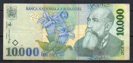 534-Roumanie Billet De 10 000 Lei 1999 007A310 - Romania