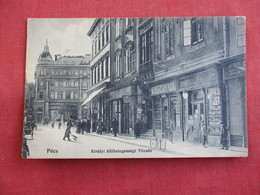 Hungary  Pecs  Store Fronts --has Stamps & Cancel   Ref 2813 - Hungary