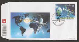"BELGICA /  /BELGIUM /BELGIQUE / BELGIE - EUROPA 2009  - TEMA  ""ASTRONOMIA"" -FDC Del SELLO  Procedente Del Hojita Bloque - Europa-CEPT"