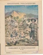 Couverture De Cahier - Tremblement De Terre D'Andalousie - Schuehmacher - Book Covers
