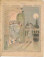 Couverture De Cahier - Vieilles Chansons, Au Clair De La Lune - Godchaux - Book Covers